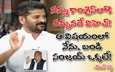Revanth Reddy React
