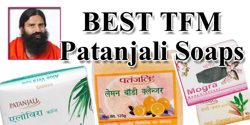TFM in Patanjali Soaps
